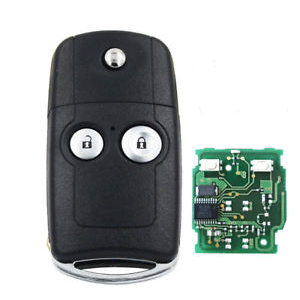 2 Button Flip Remote Key for Honda (2011 + ) - Aftermarket