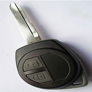 2 Button Remote Key for Fiat Sedici (Aftermarket) - Petrol Engines