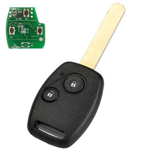 2 Button Remote Key for Honda CRV / Jazz (Aftermarket) - ID46