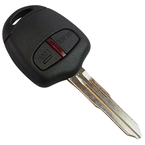 2 Button Remote Key for Mitsubishi (Aftermarket) MIT8