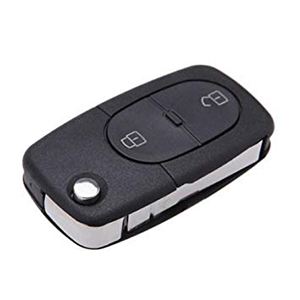 2 Button Remote for Audi A3 / A4 / A6 (4D0 837 231 R - Aftermarket)