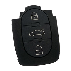 3 Button Remote for Audi (4D0 837 231 A - Aftermarket)