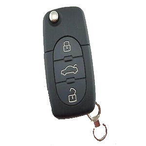 3 Button Remote for Audi A2 / A4 (8Z0 837 231 D - Aftermarket)