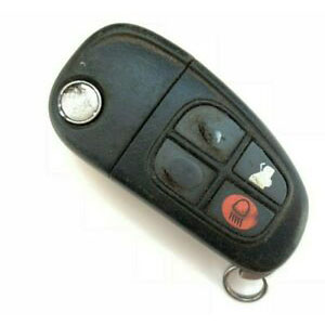 4 Button Flip Remote Key for Jaguar X-Type / S-Type (Aftermarket)