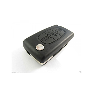 Fiat Scudo 3 Button Remote Key (2007 - 2009)