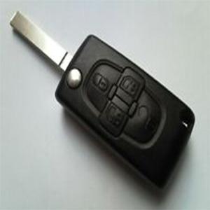 Fiat Ulysse 4 Button Remote Key (2005 - 2009)