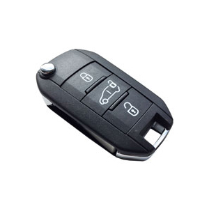 Genuine Peugeot Expert Remote Key (With Rear Doors) 1617020780 (16 + )