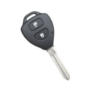Genuine Toyota Vitz / IQ 2 Button Remote Key (89070-52820 / 89070-52710) - Japan Models