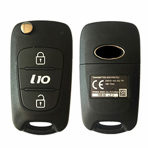 Hyundai i10 Flip Remote Key (10 - 14) 95430-0X010 (India Plant)