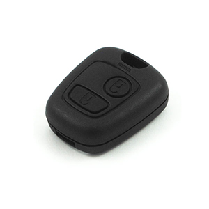 Peugeot 206 Remote Fob - With Fog Lights (2002 - 2005) (6554YR)