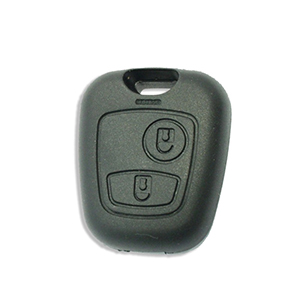 Peugeot 206 Remote Fob - With Fog Lights (2005 - 2007) (6554YV)