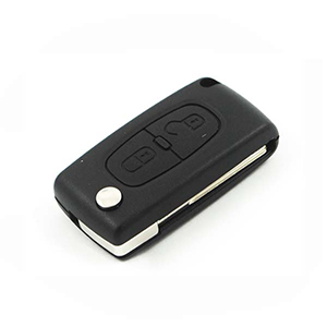 Peugeot 207 / 307 2 Button Remote Key (6490EE)