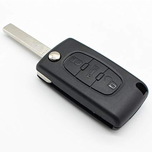 Peugeot 308 SW 3 Button Remote Key (2008 - 2010) (6490S0)