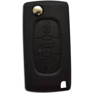 Peugeot 607 3 Button Remote Key ( - 2005) (6490A1)