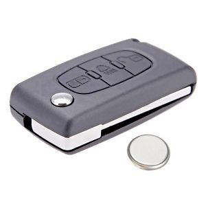 Remote Key for Citroen C4 Picasso / C5 3 Button (6490A2)