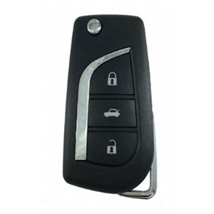 Toyota Yaris Flip Remote Key (89070-0D330) (2014 + )