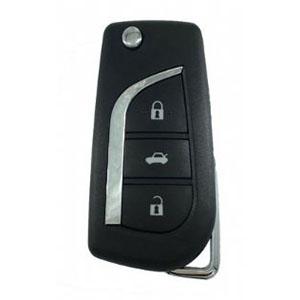 Toyota Avensis Flip Remote Key (89070-05091) (2011 - 2015)