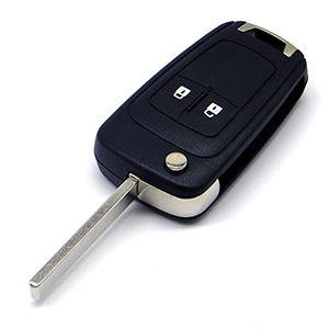Vauxhall Remote Key (2014 + ) Corsa E, Cascade, Viva (Gloss Finish)